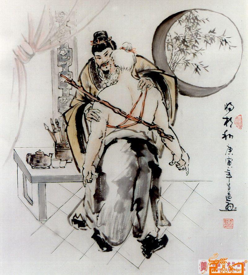 李应敏-将相和-淘宝-名人字画-中国书画服务中心